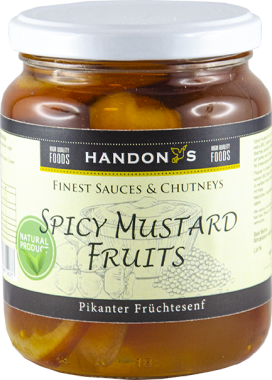 Spicy mustard fruits